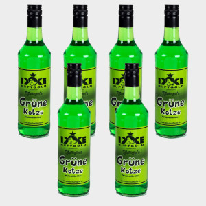 Grüne Kotze Partypaket 6 Flaschen