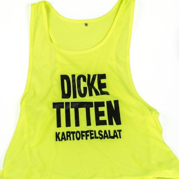"""Tank Top """"Dicke Titten Kartoffelsalat"""""""