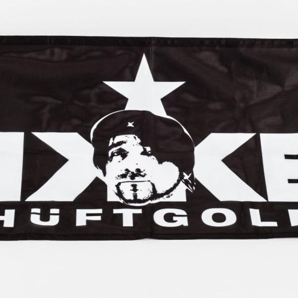 """Fahne """"Ikke Hüftgold"""""""